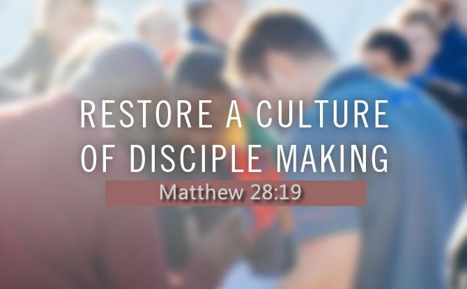 Restoring The Doctrine of Discipleship